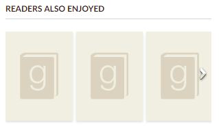 Example of Goodreads placeholder images
